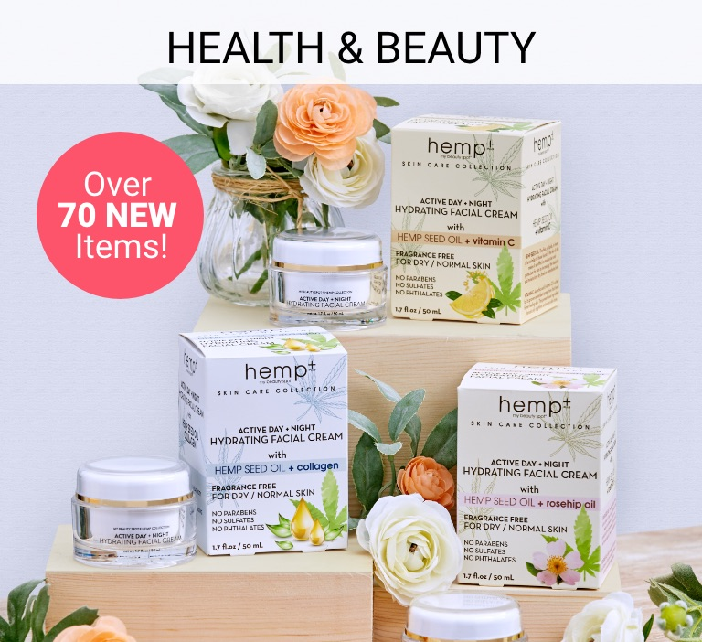Health & Beauty. Shop Now