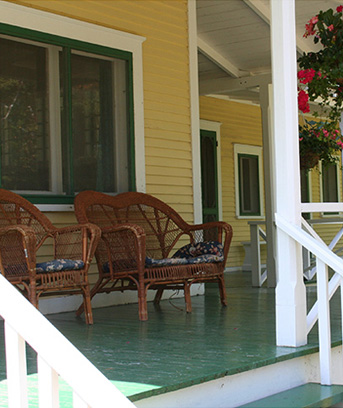 The porch is a space filled with potential and since you spend much of your summer relaxing...