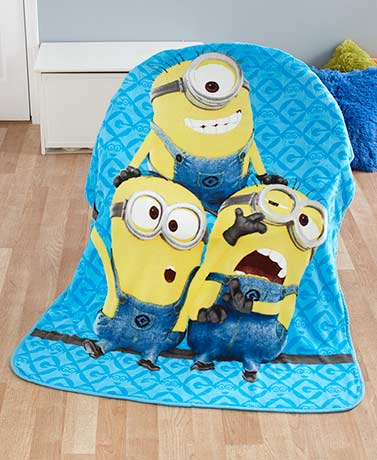 Licensed Character Plush Fleece Throws
