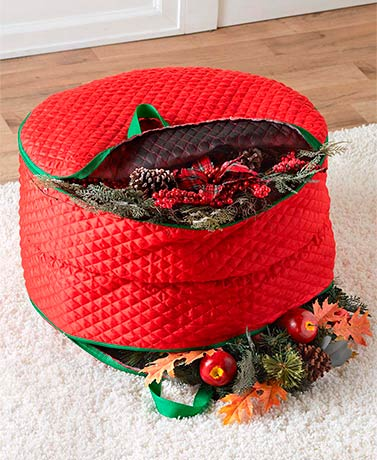 Seasonal Storage Solutions - Double Wreath Bag
