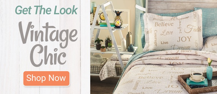 Get The Look: Vintage Chic