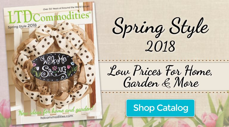 Spring Style Blossoming Values Shop Catalog