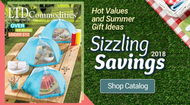 Sizzling Savings 2018 Shop Now