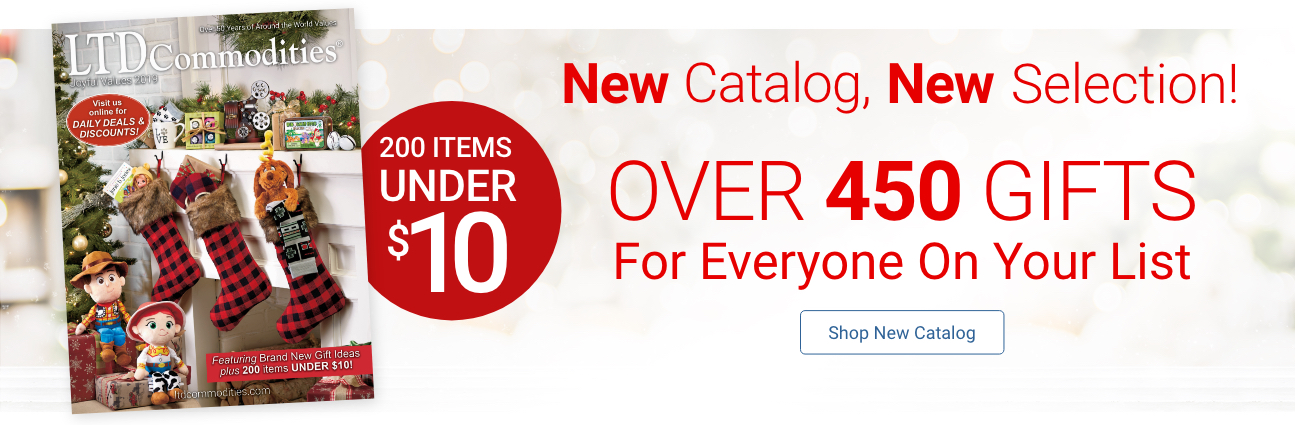 NEW Catalog, NEW Selection! Over 450 Gifts For Everyone On Your List. Shop New Catalog