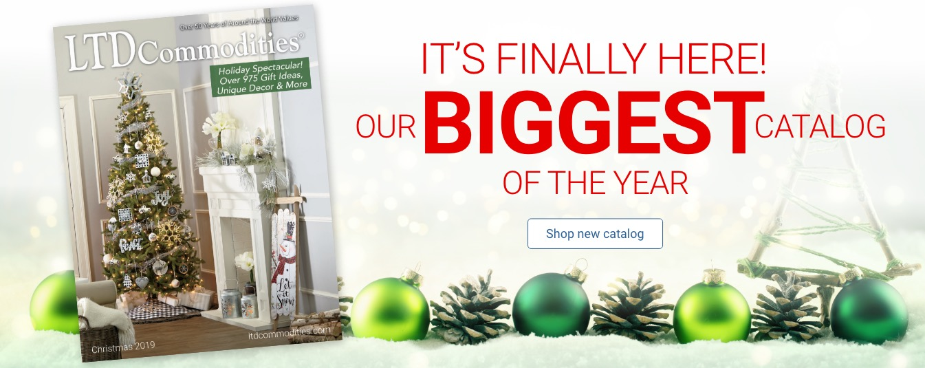 It's Finally Here! Our Biggest Catalog Of The Year Shop New Catalog