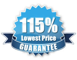 115% Lowest Price Guarantee