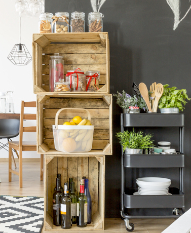 5 Ideas To Maximize Kitchen Storage Space