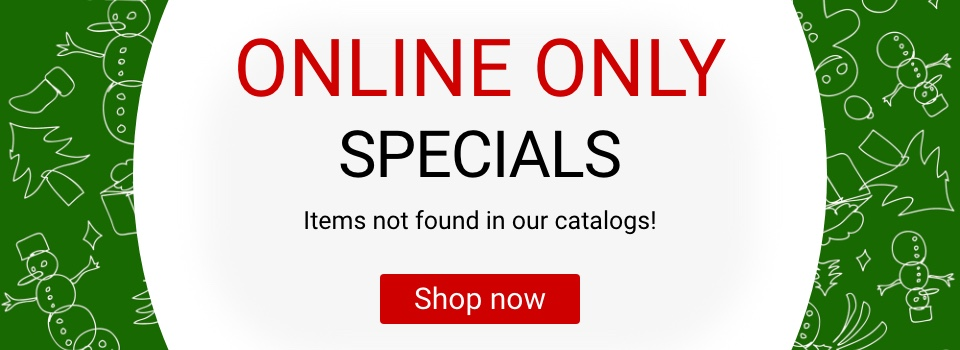 Items not found in our catalogs. Shop now.