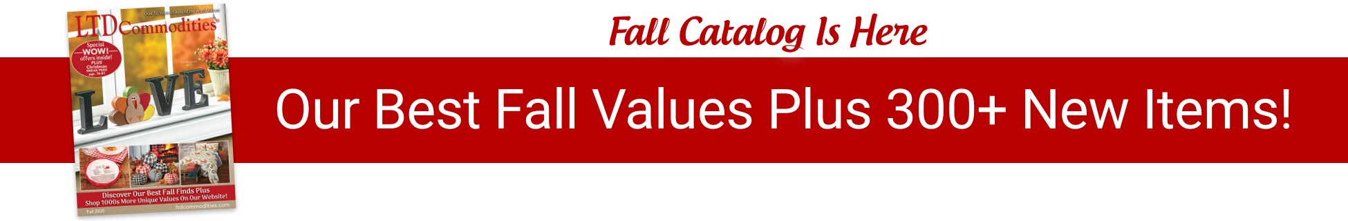 Fall Catalog Is Here