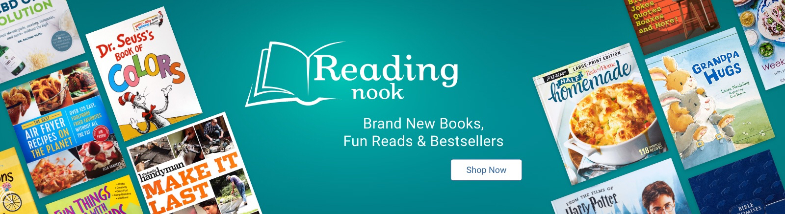 Reading Nook Brand New Books, Fun Reads & Bestsellers Shop Now
