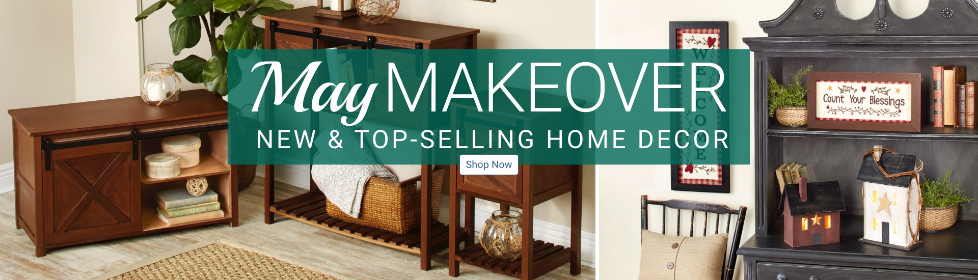 May Makeover New and Top-Selling Home Decor Shop Now