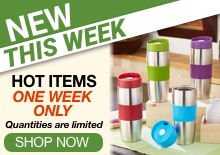 Shop Newest Items One Week Only>