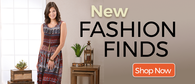 New Fashion Finds Shop Now