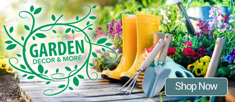 Garden Landing Page Shop Now