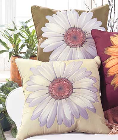 Decorative Floral Pillows