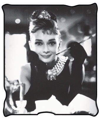 "Audrey 50"" x 60"" Licensed Plush Throw"