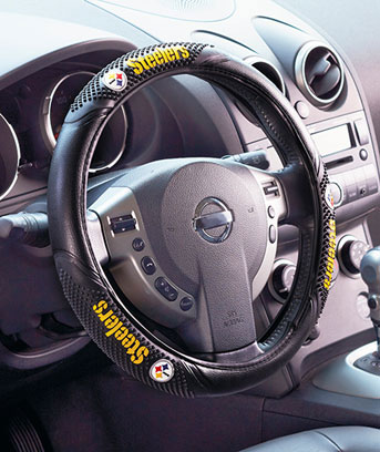 NFL Massage Grip Steering Wheel Covers