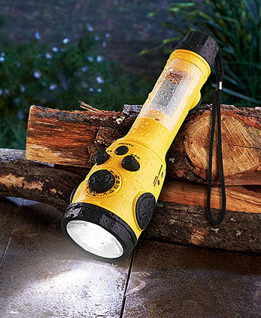 Weather Radio Flashlight