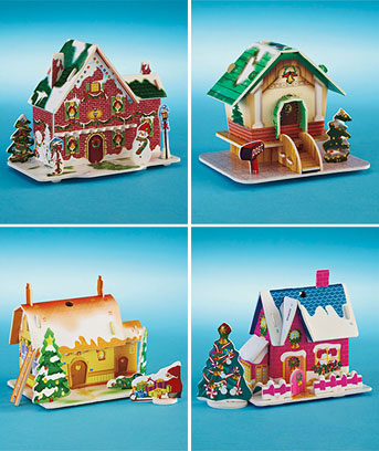 12-Pc. Christmas Card Ornament Kit