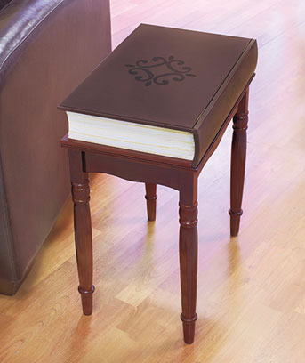 Book Accent Table