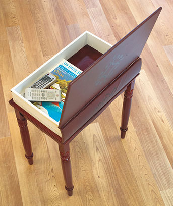 Book Accent Table; Book Accent Table