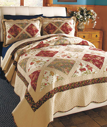 Veronica Patchwork Quilts or Shams