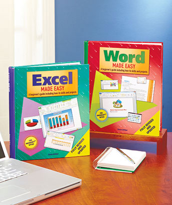 Word or Excel Made Easy Books