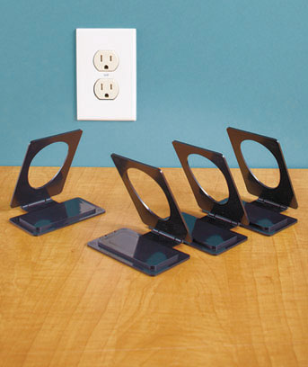 Sets of 4 Cell Phone Charging Stations