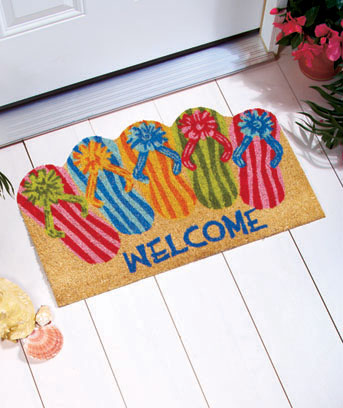 "18"" x 30"" Shaped Novelty Coir Doormats"