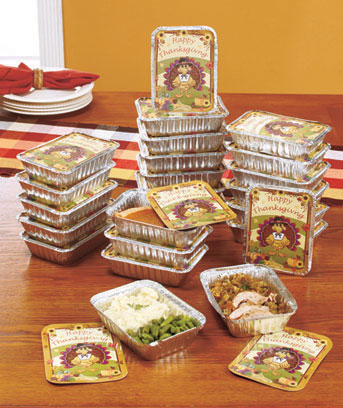 Set of 24 Thanksgiving Leftover Containers