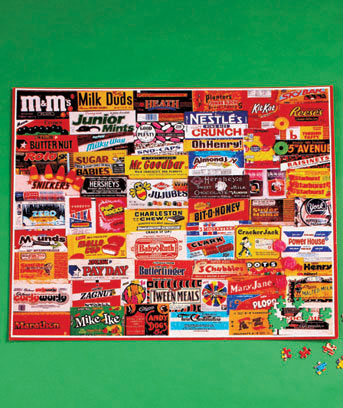 1,000-Pc. Jigsaw Puzzles or Puzzle Mat