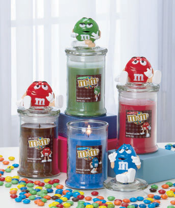 M&M's� Character Jar Candles