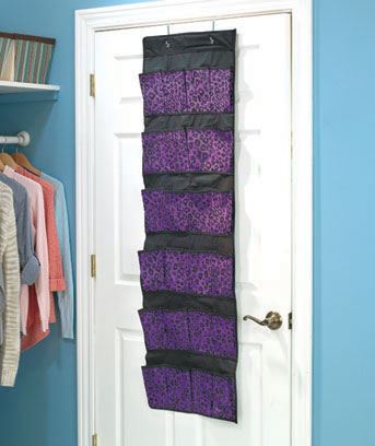 24-Pocket Fashion Over-the-Door Storage