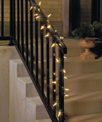 25-LED Bubble String Light Sets