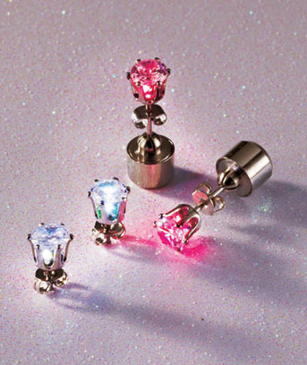 2-Pair LED Earrings