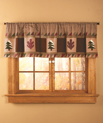 Big Pine Lodge Valance