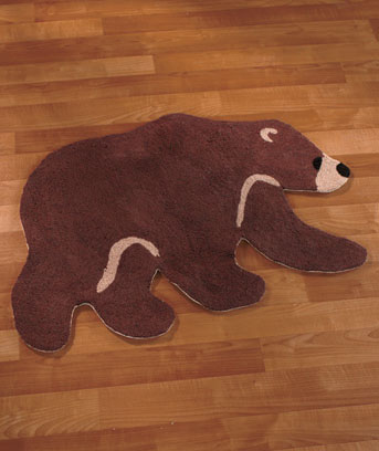 "Big Pine Lodge 36"" Bear Rug"