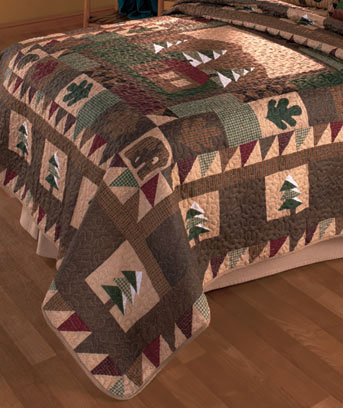 Big Pine Lodge FullQueen Quilt