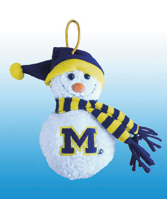 Collegiate Musical Plush Ornaments