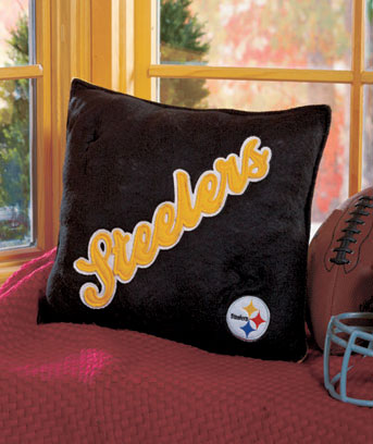 NFL Felt Logo Pillows