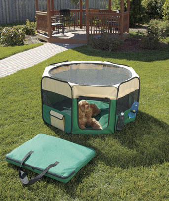 Soft-Sided Pet Playpen