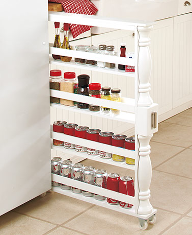 Slim Can and Spice Racks