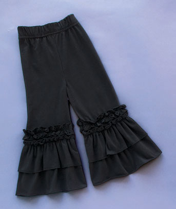 Girls' Ruffle Pants