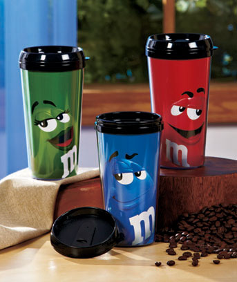 M&M's® Character Travel Mugs