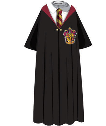 Hogwarts Character Costume Comfy Throw