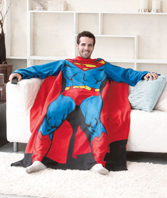 Superman Character Costume Comfy Throw™