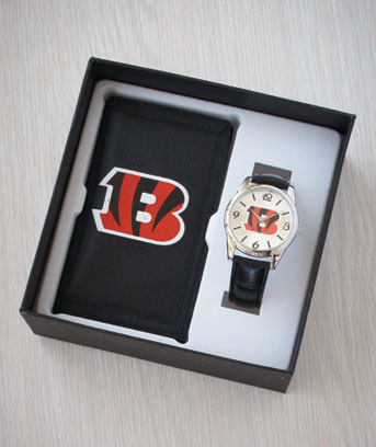 NFL Watch & Wallet Gift Sets