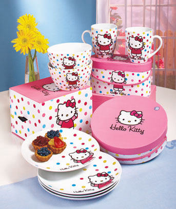Hello Kitty Tabletop Gift Sets