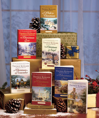 Thomas Kinkade Holiday 7-Book Set
