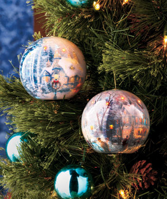 Thomas Kinkade™ LED Ornaments